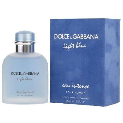 Dolce and Gabbana Light Blue Eau Intense Pour Homme Eau De P