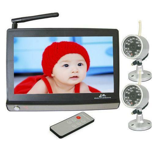 wireless baby monitor night vision video ebay. Black Bedroom Furniture Sets. Home Design Ideas
