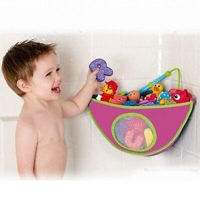 MUNCHKIN: Bad Eck-Organizer für Badespielzeug (für Babyspielzeug/Neopren/pink)