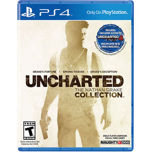 Uncharted Nathan Drake Collection Physical Copy Unopened
