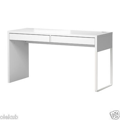 Ikea Micke White Desk Table Computer Workstation Modern 902 143 08
