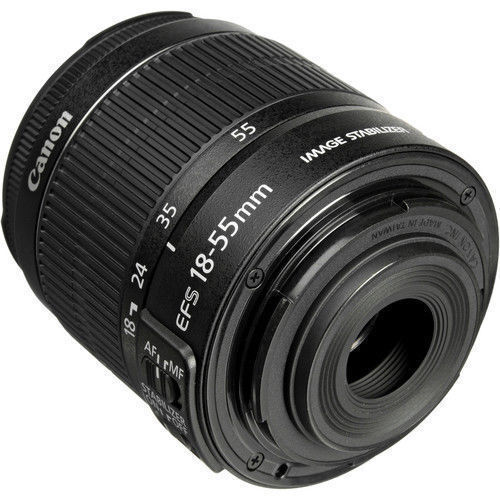 Купить Canon Canon EF-S 18-55mm f/3.5-5.6 IS II - NEW Canon EF-S 18-55mm f/3.5-5.6 IS II Lens For Canon DSLR Zoom Autofocus Lens