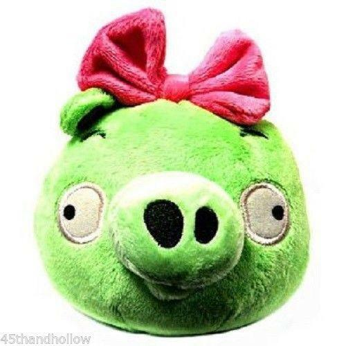 All Angry Birds Plush Toys : Angry birds plush green ebay
