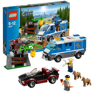 2012 LEGO CITY FOREST POLICE 4441 POLICE DOG VAN, RETIRED, RARE, GREAT GIFT!