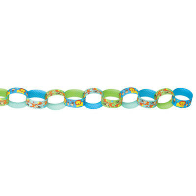 One Wild Girl Printed Paper Chain Link Garland Printed Paper Garland