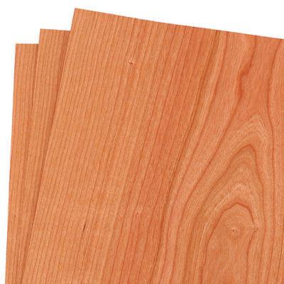 Cherry Wood Veneer Rawunbacked 12 X 12 1 X 1 Pack Of 3 Sheets