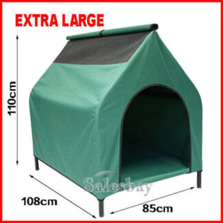 Extra Large Elevated Trampoline Hammock Cat Dog Pet Bed House