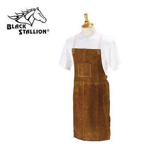 "Revco Black Stallion Quality Side Split Cowhide Welding Bib Apron - 36""- 36A"