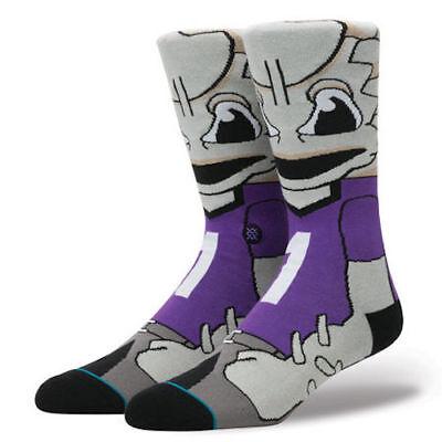 Neu Herren Stance Tcu Horned Frogs Mannschafts Socken (Super Frosch) - Größe L (