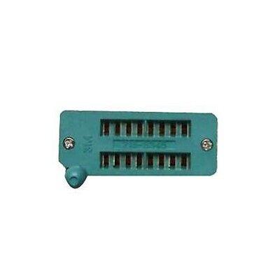 New 16 Pin Universal Zif Dip Tester Ic Test Socket