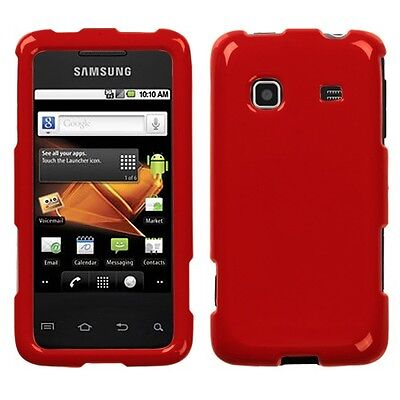 Flaming Red HARD Case Protector Snap on Phone Cover for Samsung Galaxy Precedent ()