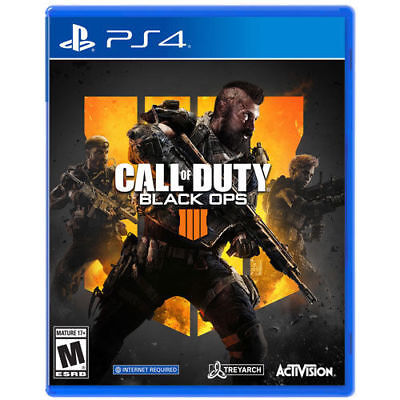 Call Of Duty: Black Ops 4 (PS4, 2018) Brand New Factory Sealed