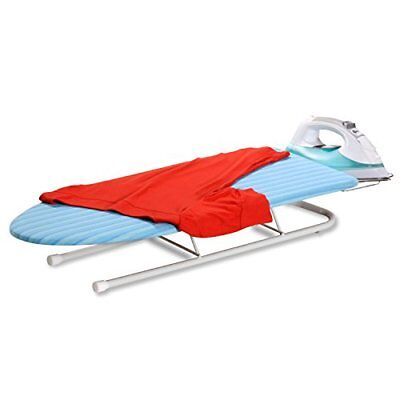 HoneyCanDo BRD01435 Collapsible Tabletop Ironing Board with Pull out Iron Rest