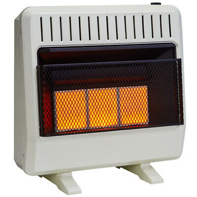Avenger Dual Fuel Ventless Infrared Heater - 30,000 BTU, Model# FDT3IR ()