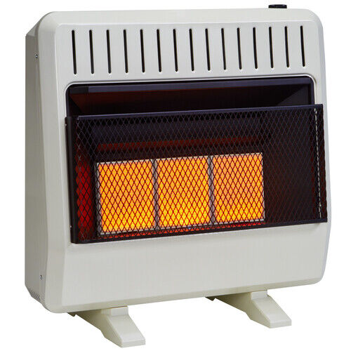 Avenger Dual Fuel Ventless Infrared Gas  Heater With Blower and Base ,Vent Free