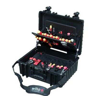 Electrician Tool Set Wiha Vde Professional Insulated Screwdriver Kit 80 Piece