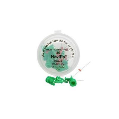 Ultradent 1354 Navitip Dental Delivery Tips 30 Gauge 27mm Green 20pk
