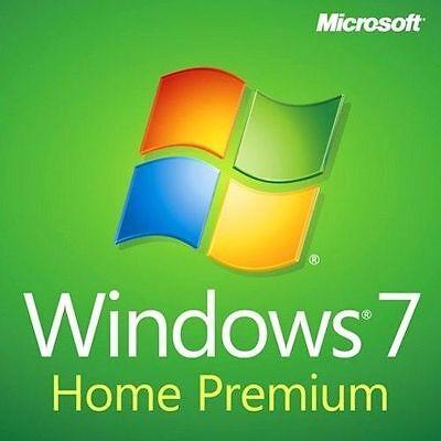 Microsoft Windows 7 home premium 64 Bit Full Version & Upgrade New