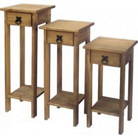 CORONA MEXICAN PINE 3PC PLANT STANDS
