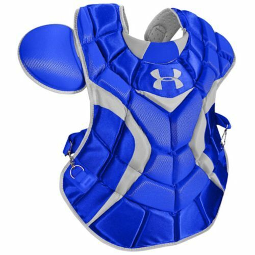 Under Armour Adult Professional Chest Protector Royal  16.5""
