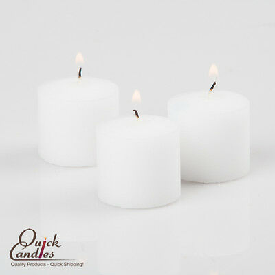 White Votive Candles Set of 144 Unscented ...