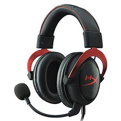 Kingston Gaming Headset HyperX Cloud II KHX-HSCP-RD Black/Red F/S w/Tracking#