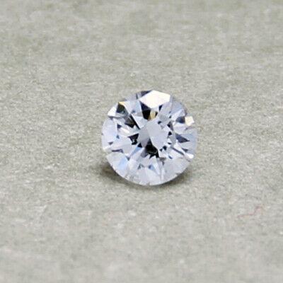 Natürlicher Diamant 0,125ct 3,1mm - 3,2mm D-F / IF-VVS Brillant 3,1 3,2 0,12ct