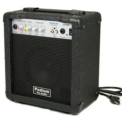 New Overdrive 100 W Electric Guitar Practice Amp G-100 on Rummage