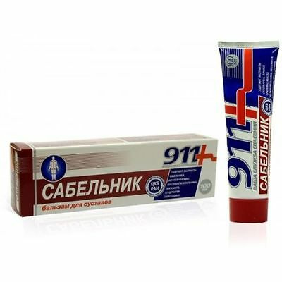 911+ SABELNIK 911 GEL - BALM HAS PAIN KILLING anti-inflammatory properties 100ml
