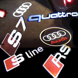 Audi-Einstiegsbeleuchtung-Led-Logo-Projektor-Einstiegslicht-Turlicht-Innenlicht