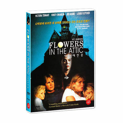 Flowers in the Attic (1987) Louise Fletcher, Victoria Tennant DVD *NEW