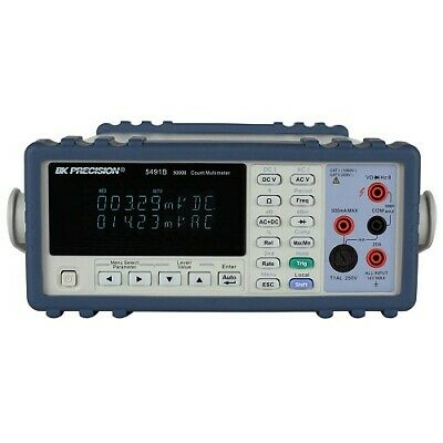 Bk Precision 5491b 50000 Count Dual Display Bench Multimeter W Rs232