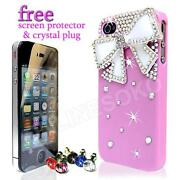 Pink Diamonte iPhone 4 Case