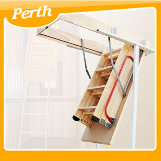 WOODEN LOFT LADDER & HATCH  (270CM) + stile ends  WA Canning Vale Canning Area Preview