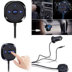 Car Bluetooth Audio Receiver Kit Cigarette Lighter USB Charger AUX MP3 Player