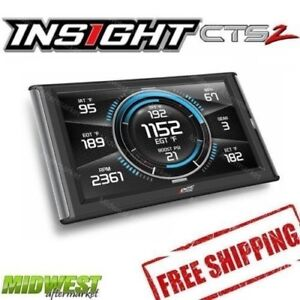 Edge Insight CTS2 Gauge Monitor for 2001-2019 Chevrolet GMC 6.6L Duramax Diesel
