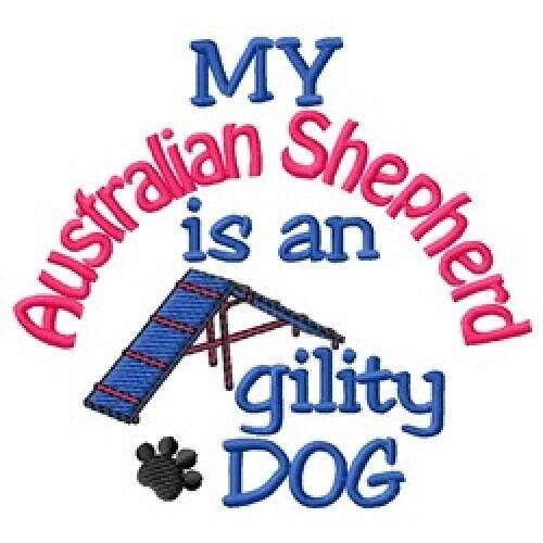 My Australian Shepherd is An Agility Dog Fleece Jacket - DC1730L