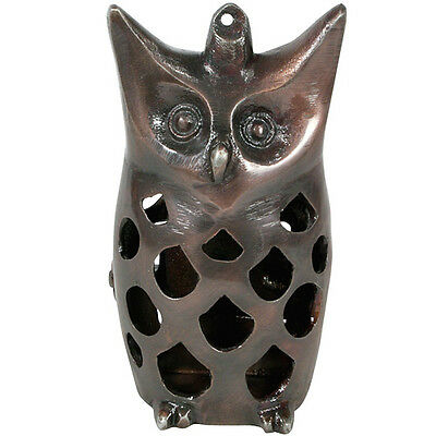 Recycled Metal Owl Luminary Handmade in India | Fair Trade for sale  Shipping to India
