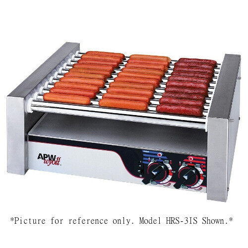 Apw Wyott Hrs-20s X*pert Slanted Non-stick Hot Dog Roller Grill
