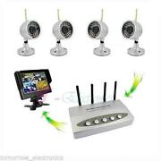 DVR Wireless Outdoor Security System