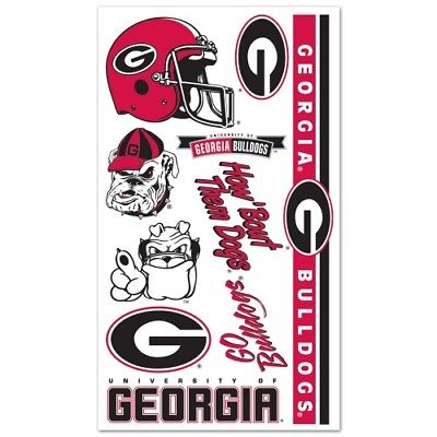 Georgia Bulldogs Temporary Tattoos - Georgia Bulldog Tattoos