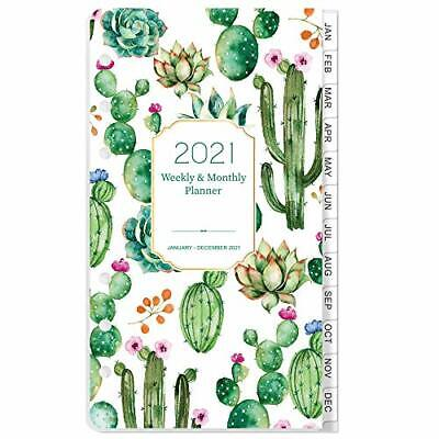 2021 Planner Refills Weekly Monthly A6 Planner Inserts 3-34x6-34 Jan-dec 2021