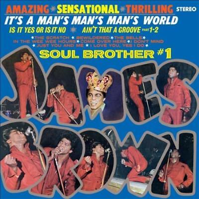 JAMES BROWN-JAMES BROWN:ITS A MANS MANS MANS WORLD NEW (James Brown Its A Mans Mans World)