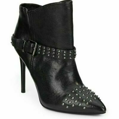 Women`s KENNETH COLE Real Leather Ankle Boots UK 5 Studded