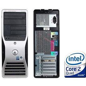 Cheap Workstation Hackintosh MacOS X 10.8.5+Windowns 7/C2D 2x3GHz/4GB/500GB HDD