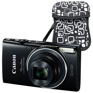 Canon Powershot elph350 HS 20.2MP Dig. Camera-NEW in box w/case