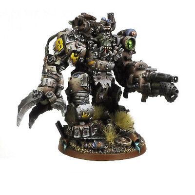 Ork War2 Orc Juggernaut with Flamer Mecha-Armour Kromlech KRM023