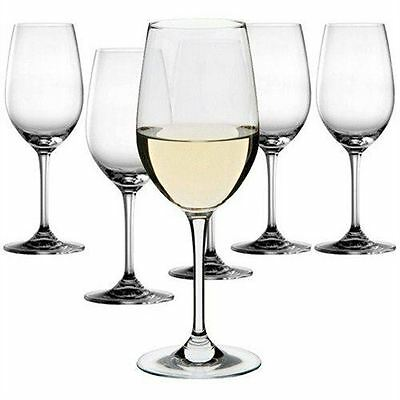 Dartington Crystal - Set of 6 Classic White Wine Glasses