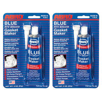 UPC 790920122912 - 2 X Abro Blue Rtv Silicone Instant Gasket Maker