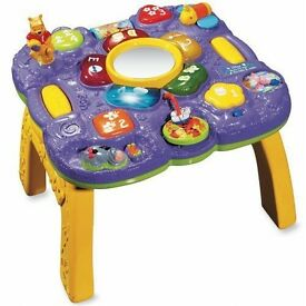 VTech Winnie The Pooh Learn and Grow Table
